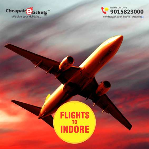 Best airfare for indore offered online