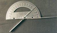 Finger goniometer (stainless steel)
