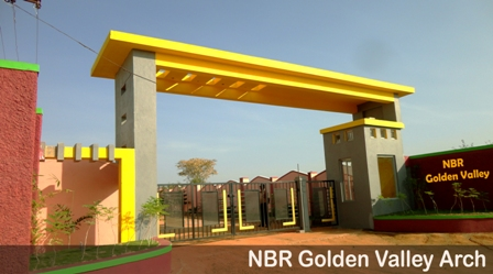 Nbr golden valley is a five star amenities residential layout offering plots of 30 x 50, 3