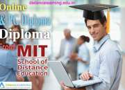 Online pg diploma & diploma courses from mit sde