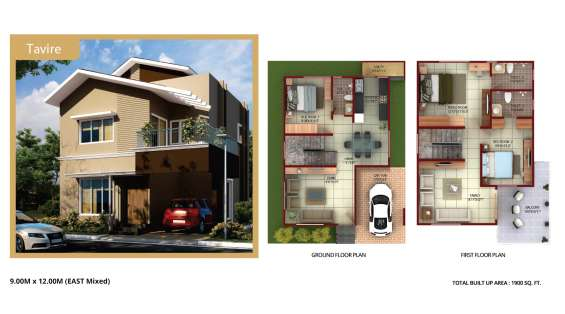 Well designed & constructed villa at competitive price.12