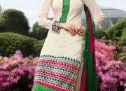 Buy Online Plushy Buttercream Salwar Kameez - Planeteves