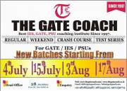 New Batches Starting for Chemical Engineering Gate 2016