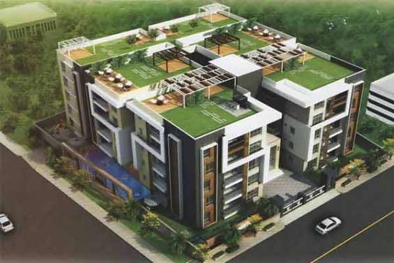 3,4 bhk flats for sale in hyderabad banjarahills with all required amenities