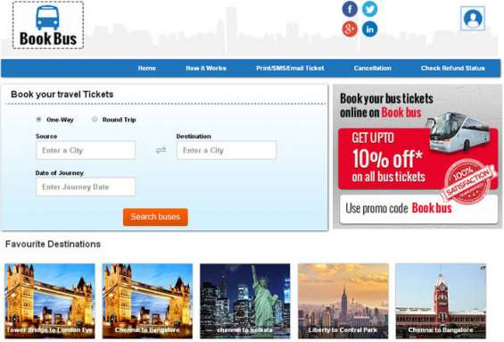 Bus booking script | online bus booking software | bus reservation script