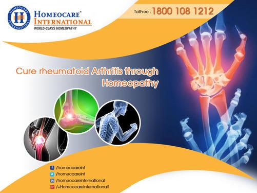 Get relief from arthritis through effecient homeopathy