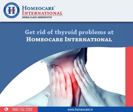 Effective natural homeopathic treatment for thyroid problems