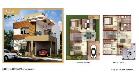 Luxurious bmrda approved villa's and plots on kanakpura main road.101