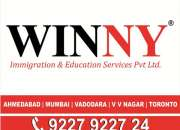 Canada PR-Immigration Visa Consultants in India - Winny Immigration and Education Services