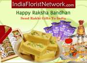 Surprise your beloved brother by sending him a beautiful Rakhi to India