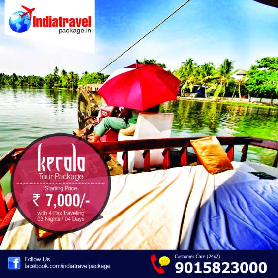Kerala houseboat & backwater tour package at indiatravelpackage.in