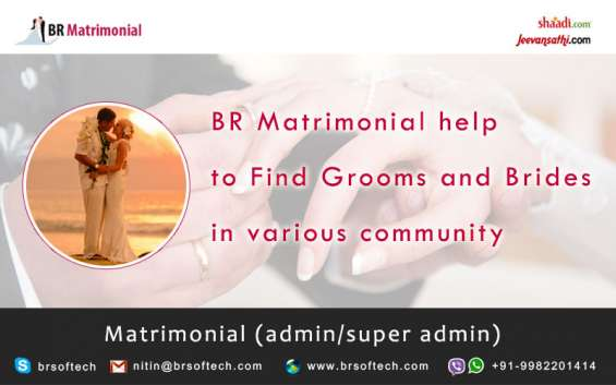 Ready to use match making app and website by br softech pvt.ltd