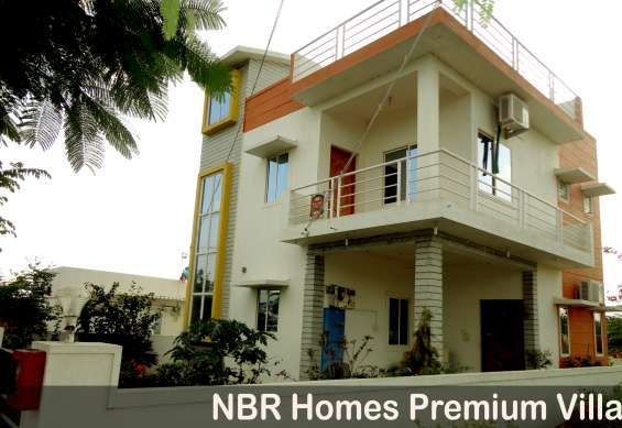 Villas and villa plots available at feasible cost rs. 500/- per sq.ft in nbr homes in hosu