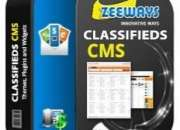 Classified script with free domain and hosting.