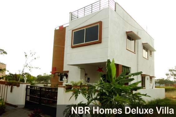 Nbr homes fully secured, villa plots available for rs. 500/- per sq.ft in hosur for detail