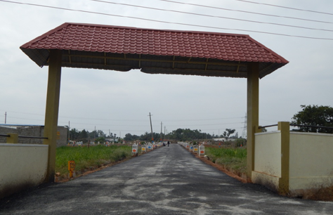 Residential site for sale @ bagalur