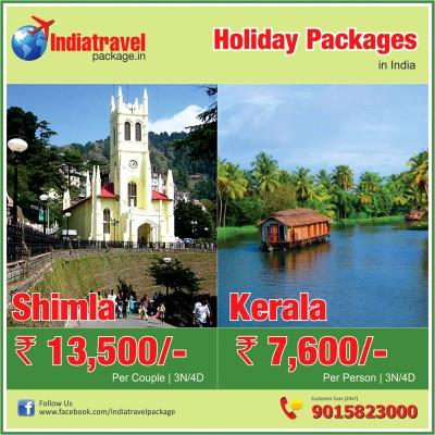 Check out exciting holiday packages at indiatravelpackage.in