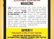 College Campus Magazine,Solapur