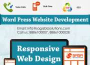 Wordpress development services in hyderabad – saga biz solutions