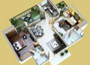 Reasonable 2/3 BHK Flats By Mahaluxmi Green Mansion