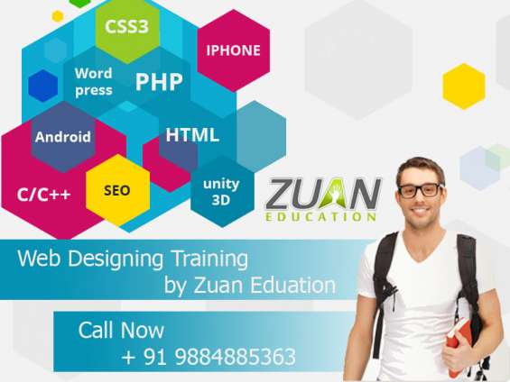 Web designing training by zuan education