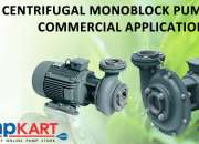 Oswal Centrifugal Monoblock Pumps For Commercial Applications