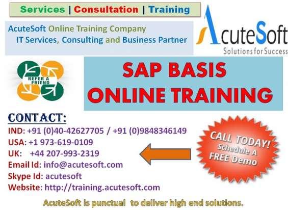 Sap basis online training