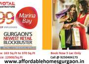 99 Marina Bay Affordable Shops Sector 99 Gurgaon