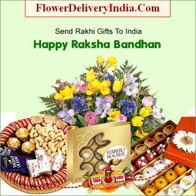 Bring moments of happiness on raksha bandhan with gifts