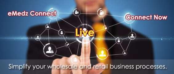 Emedz connect - live inventory & online order management software solution