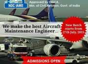 Become a renowned aircraft maintenance engineer with ndc!