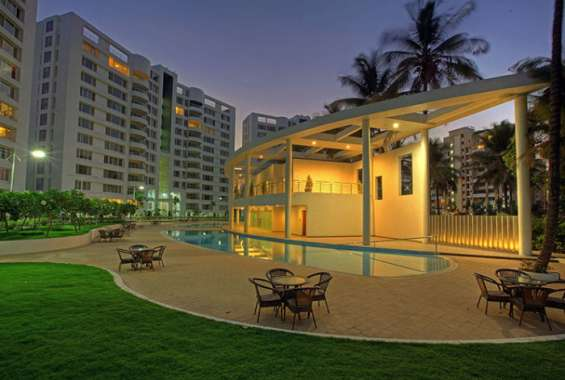 Green building concept 2bhk flat for sale at patia