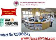Lyceum north western university in philippines (contact - 7200050545)