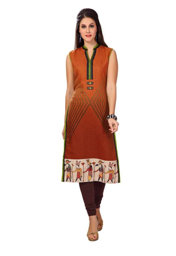 Fashion designer cotton kurtis