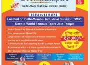 Residential Plots For Sale At Tijara Bhiwadi