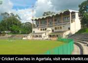 Find cricket coaches in agartala