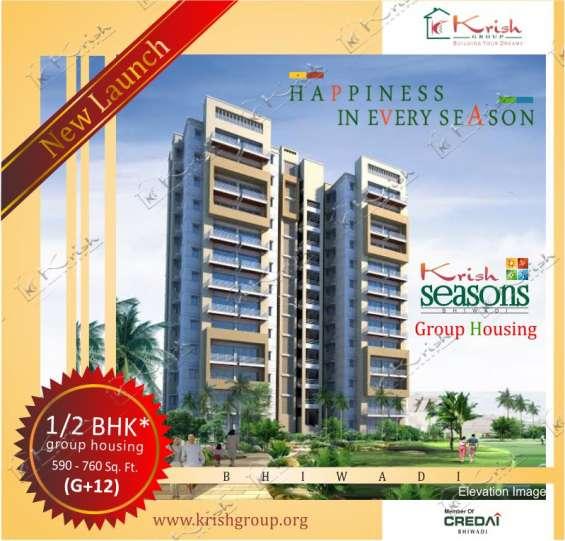 Booking at krish season group housing in bhiwadi limited offer
