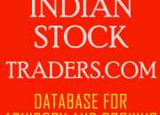 Database of equity / f&o stock traders in nse market.