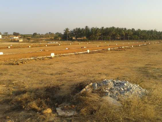 Different extents villa plots in bagalur town from nbr golden valley
