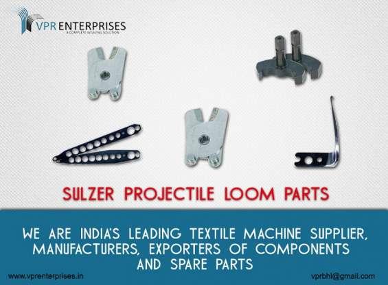 Sulzer projectile loom parts, textile machine components, sulzer loom parts