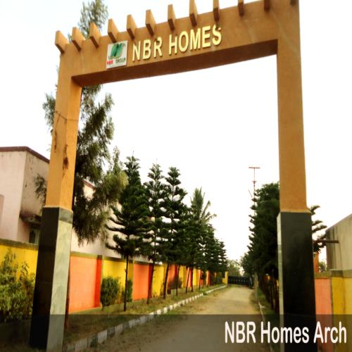 Villa plots at feasible rates at nbr homes for 500/- sq ft