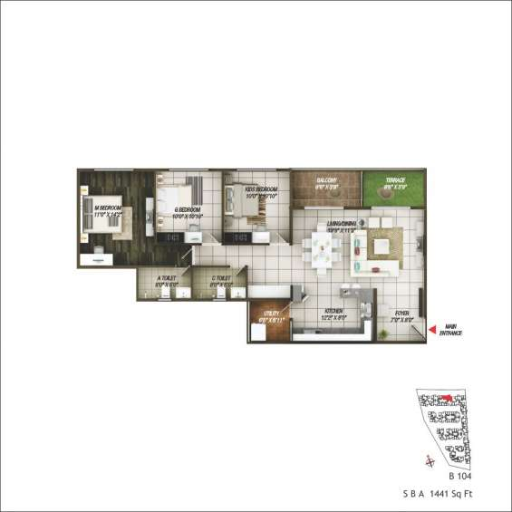Concorde epitome- 2 & 3 bhk in electronic phase-2