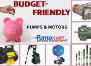 Budget-friendly pumps & motors|buy at pumpkart
