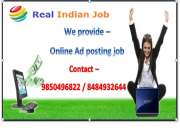 Copy paste work-online jobs,wanted home based internet job worker. are you search same con