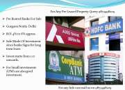 pre leased bank for sale in gurgaon: 9873498205