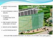 Pre leased property for sale in spaze i tech gurgaon: 9873498205