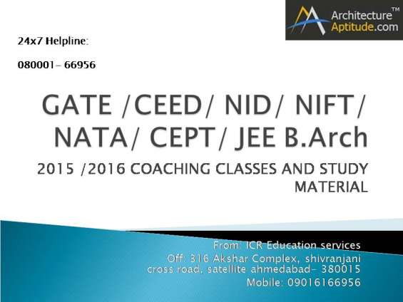 Nid 2016 exam preparation coaching classes