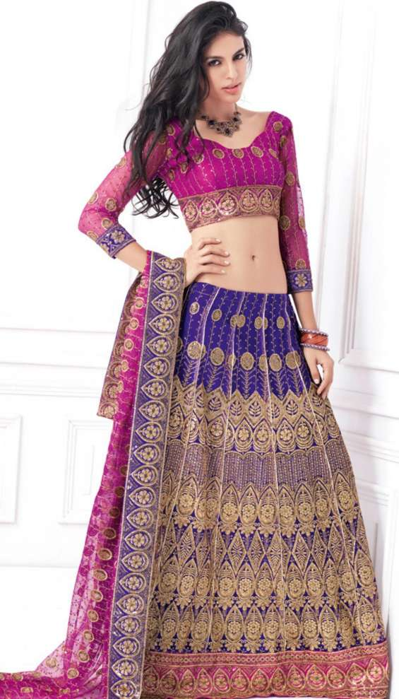 Party wear lehenga for indian women