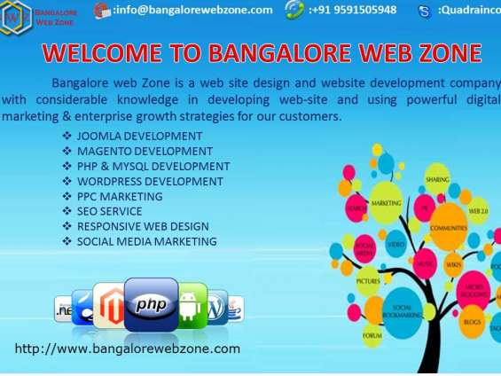 Pictures of Web design company in mg road,bangalore - bangalore web zone 1