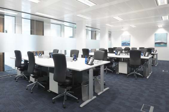 Fully furnished commercial office space